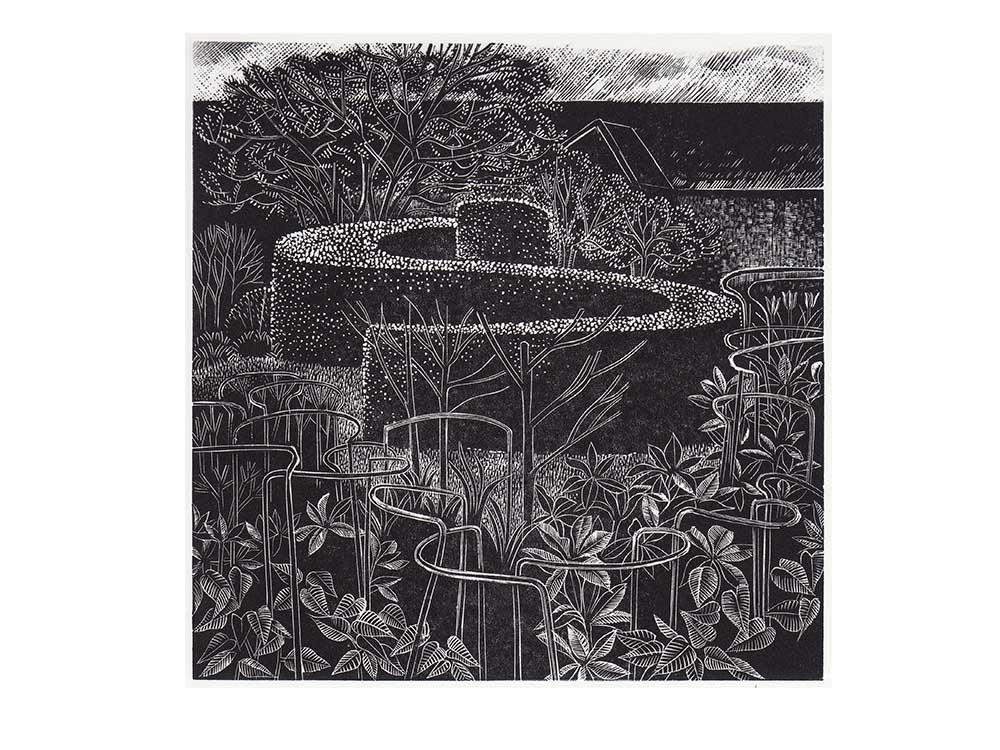 Anne Hayward, Bury Court, Spring Garden