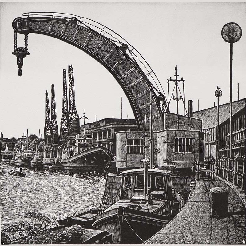 Haddrell, Trevor Steam Crane, Bristol Docks